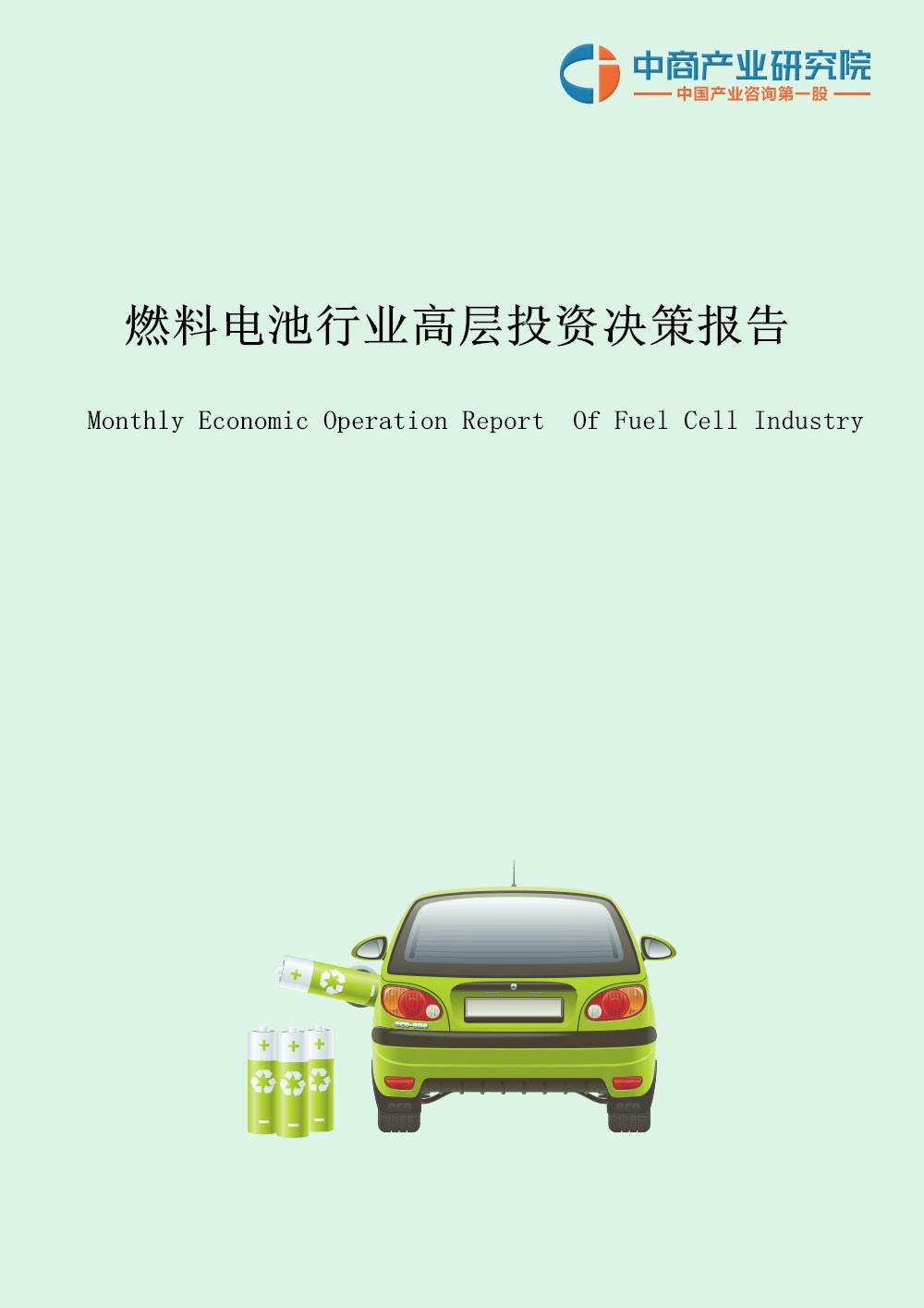 燃料电池投资月度报告(2019年2月)