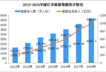2018年麗江市旅游人數超4600萬  實現旅游收入近1000億元(圖)