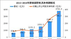 2018年碧桂园年报分析:营收同比增长67.1%(图)
