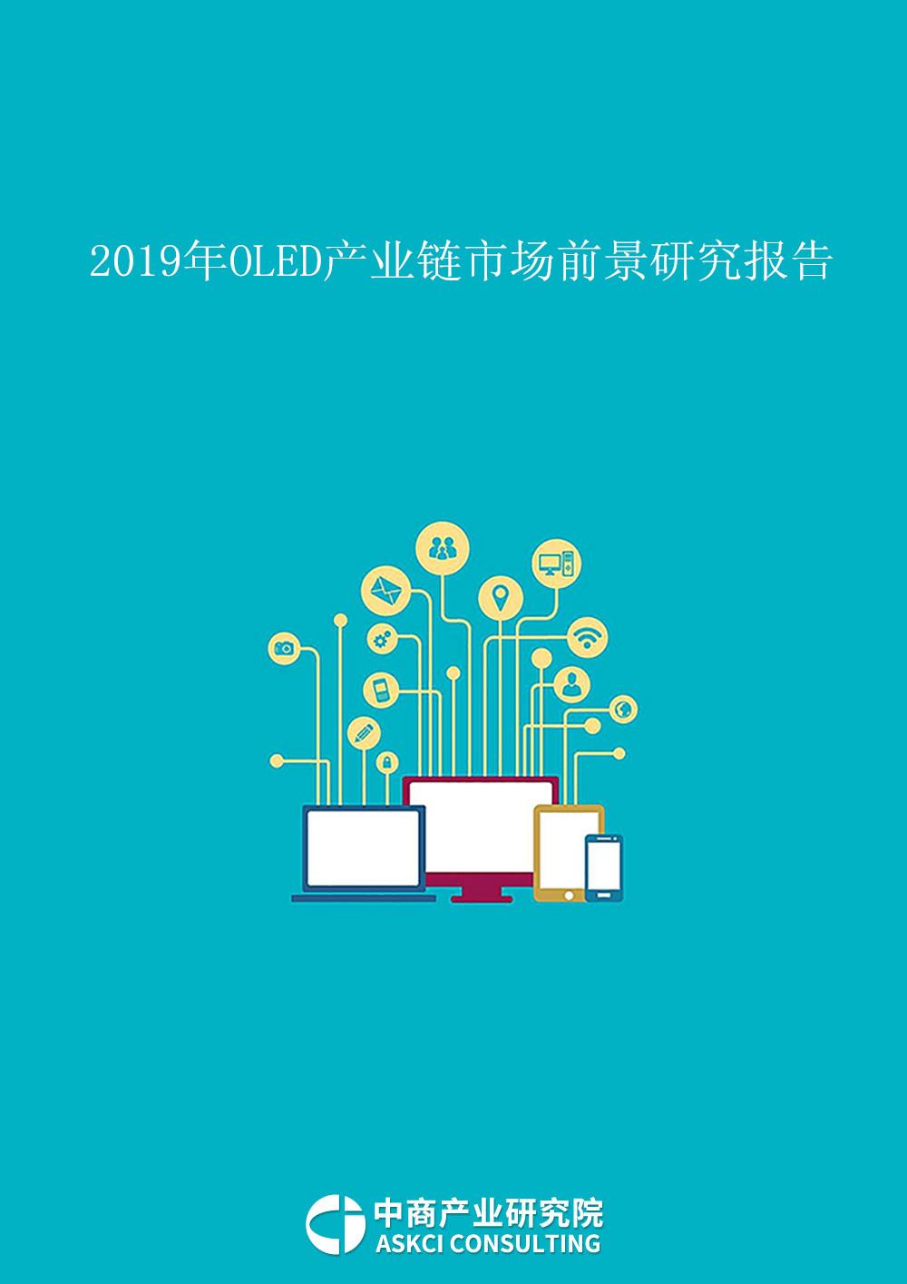 2019年OLED产业链市场前景研究报告