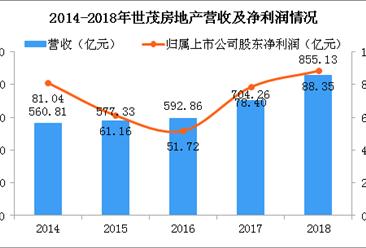 2018年世茂房地产年报分析: 营收同比增长21.4% 积极布局粤港澳大湾区(图)