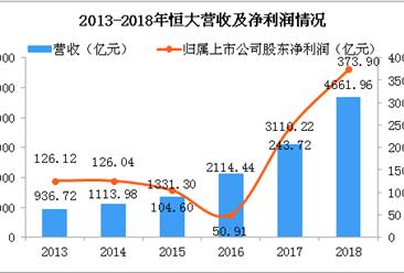 2018年恒大年报分析:净利润同比增长53.4% 净负债率降至151.9% (图)