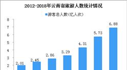 2018年云南省国内旅游数据统计: 旅游业总收入8991亿元  同比增长30%(图)