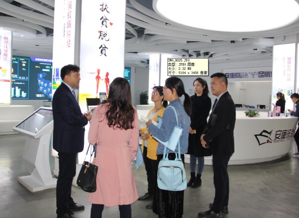中商产业研究院赴陕西省安康市开展项目包装策划专题调研
