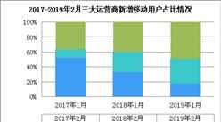 2019年2月三大運營商競爭格局分析:中國移動增速放緩 聯通/電信穩步增長(圖)