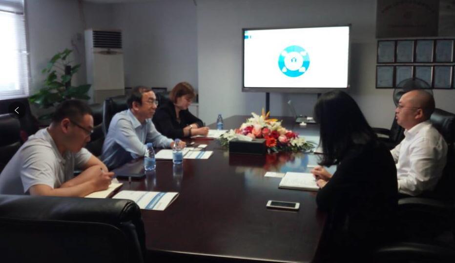 山东泰安市商务局领导莅临中商产业研究院考察洽谈