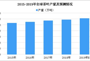茶叶产量持续攀升 2019年全球茶叶产量将突破600万吨(图)