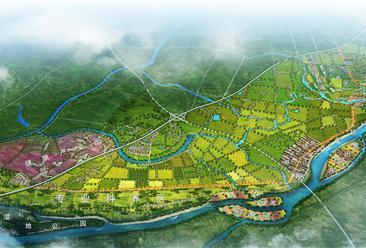 湖北公安县申津渡田园综合体项目案例