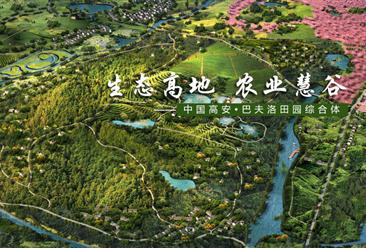 中国高安•巴夫洛田园综合体案例