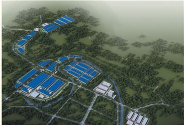 中国(普光)微玻纤新材料产业园案例