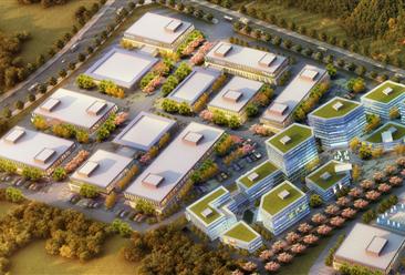 扬州市江都区高端装备制造产业园案例