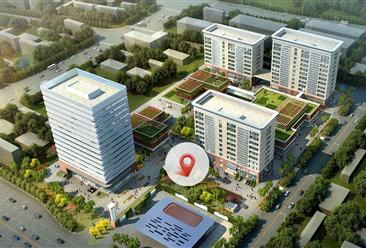 上海海湾电子商务总部产业园项目案例