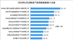 产业地产投资情报:2019年5月吉林省产业用地拿地企业100强排行榜