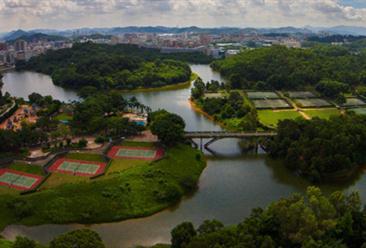 深圳观澜湖休闲体育产业园区项目案例