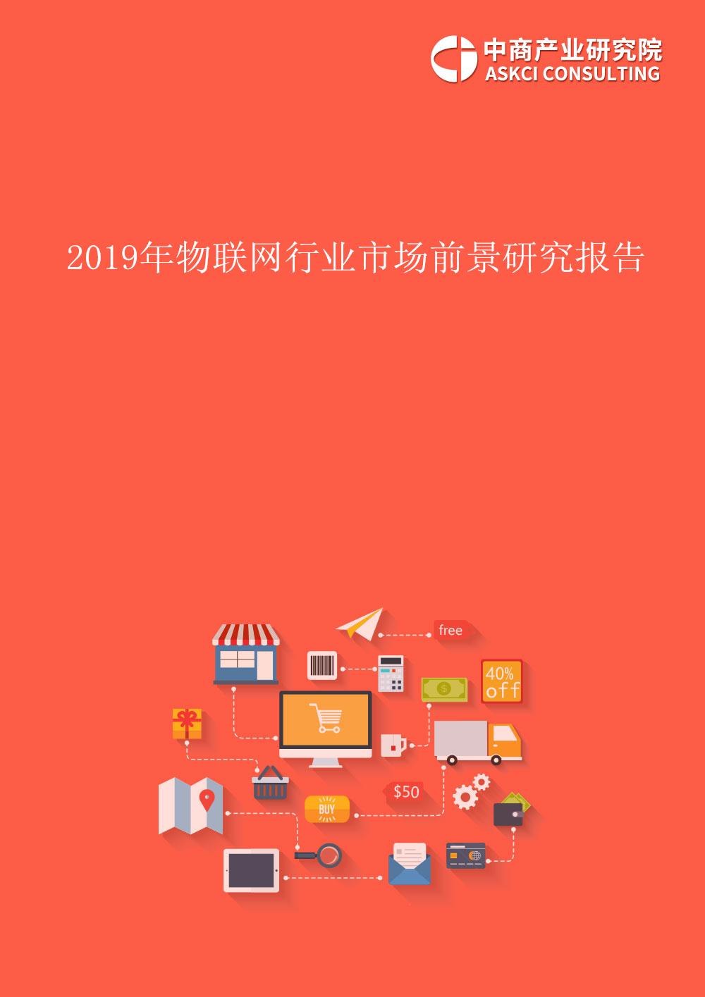 2019年中國物聯網行業市場前景研究報告