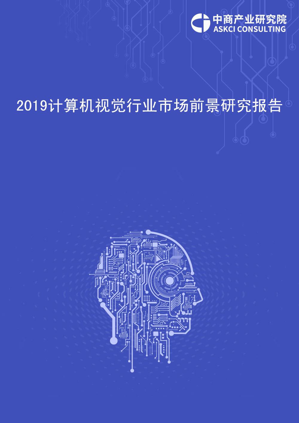 2019年中國計算機視覺行業市場前景研究報告