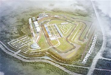 北仑国际赛车小镇规划案例