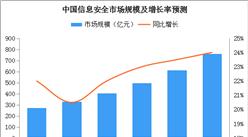 2019年中国信息安全市场规模预测及发展趋势分析