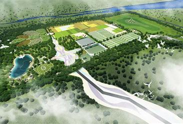 鄂尔多斯康巴什草原丝路田园综合体项目案例