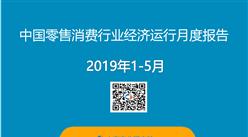 2019年1-5月中國零售消費行業經濟運行月度報告(附全文)