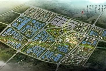 河南长垣县防腐蚀及建筑新材料产业园项目案例