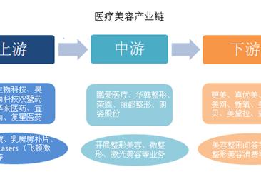 医疗美容产业链分析:上游利润丰厚 中游面临转型压力(图)