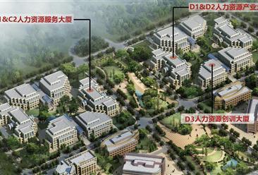 中国大连人力资源服务产业园项目案例