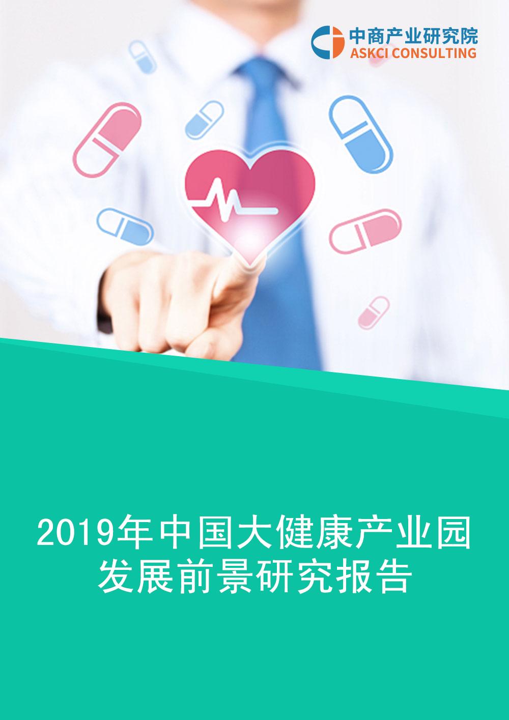 2019年中国大健康产业园发展前景及投资研究报告
