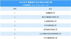 2018年中国服装行业百强企业排行榜