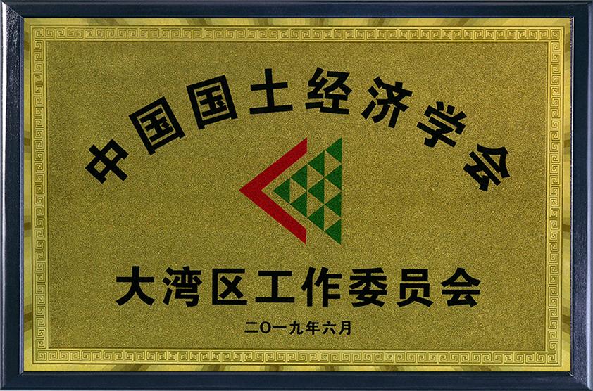 中國國土經濟學會大灣區委員會