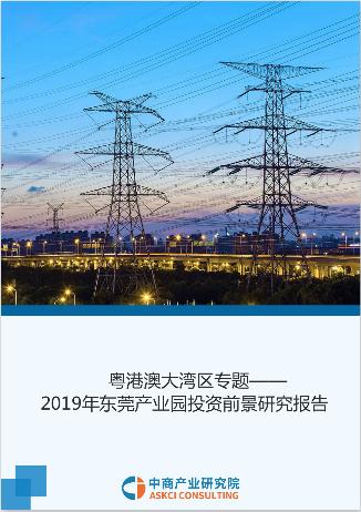 粵港澳大灣區專題——2019年東莞產業園投資前景研究報告