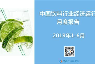 2019年1-6月中国饮料行业经济运行月度爆大奖注册送88元网址(完整版)
