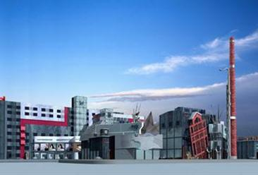 晋城市太行印象创意园区项目案例