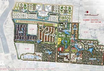 山东莱西市店埠航空文化小镇项目案例