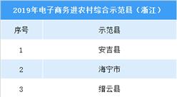 浙江农村网络零售额全国第一  9县入围2019电子商务进农村综合示范县