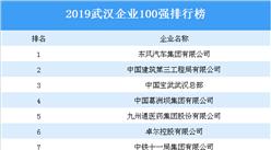 2019年武汉企业100强排行榜
