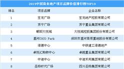 2019中国商业地产项目品牌价值排行榜TOP10:朝阳大悦城第三(图)