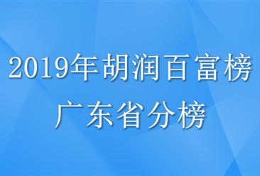 2019年胡润百富榜(广东省分榜)