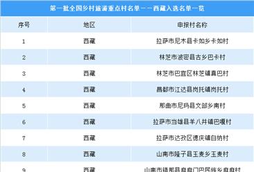 第一批全国乡村旅游重点村名单出炉:西藏共9个乡村入选(附图表)