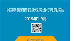 2019年1-9月中国零售消费行业经济运行月度报告(附全文)