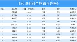 2019胡润全球独角兽排行榜