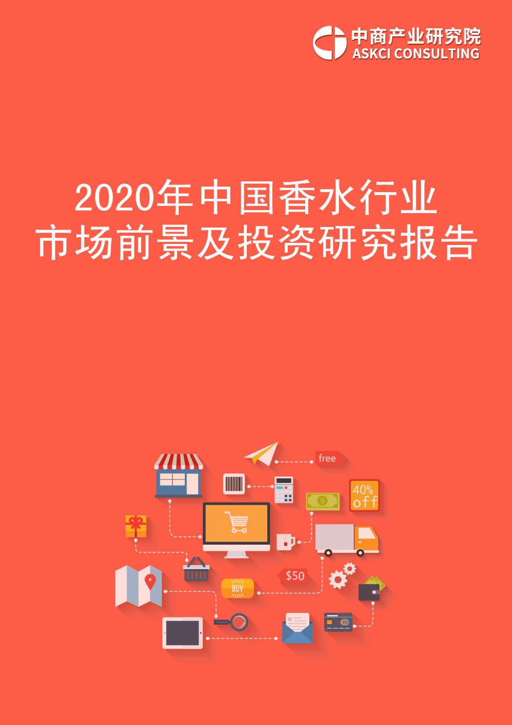 2020年中國香水行業市場前景及投資研究報告