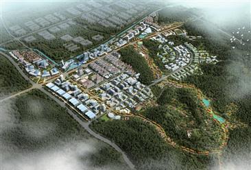 南平市武夷新区高新园区软件园规划案例