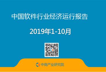 2019年1-10月中国软件行业经济运行报告(附全文)