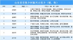 山東省首批鄉村振興示范鄉(鎮、街)擬認定名單出爐:共90個鄉鎮(街)上榜