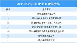 2019年四川省企业100强榜单出炉:新希望位居榜首(附全榜单)