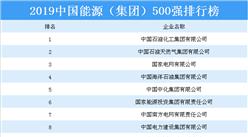 2019中国能源(集团)500强排行榜