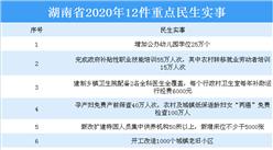 湖南省政府工作报告:2020年办好这12件重点民生实事