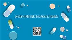 2019年中国医药行业经济运行月度报告(全文)