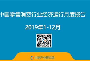 2019年中国零售消费行业经济运行月度报告(附全文)